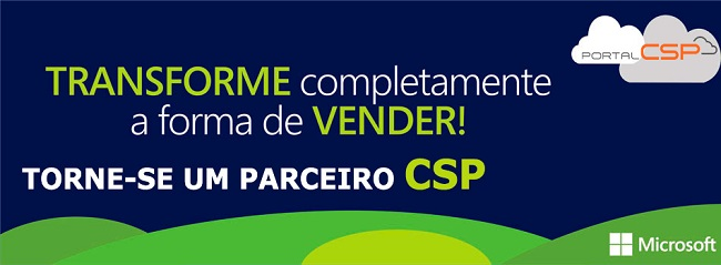 Banner Parceria Microsoft CSP