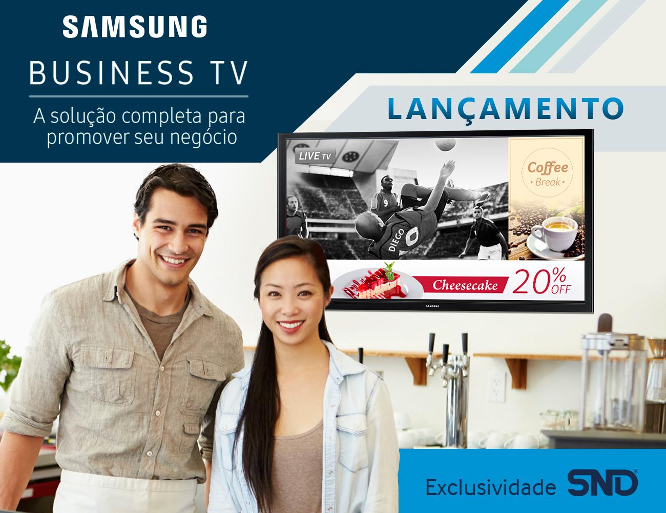 Business TV Samsung